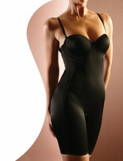 MARILYN MUNROE INTIMATES Full Body Control Briefer Bodysuit Shapewear